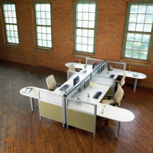 Nano Workstations with Extended Meeting Surfaces