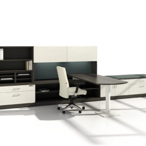 TakeOff Office with Two-Toned Finishes