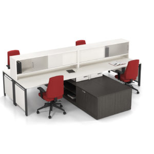 Layered Workstations with Shared Storage