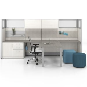 Uni-T Private Office with Guest Seating